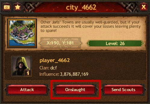 Onslaughts Vikings War Of Clans Browser Guide